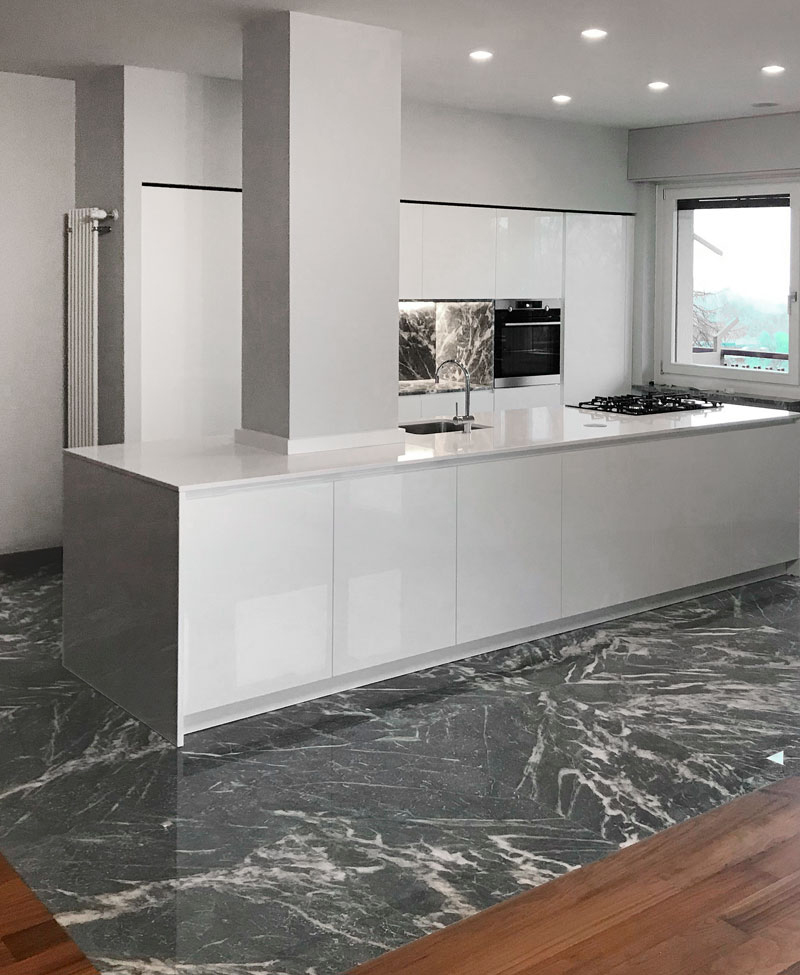 Kitchen Top grigio Moncervetto